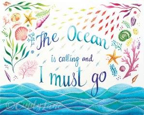 The Ocean is calling